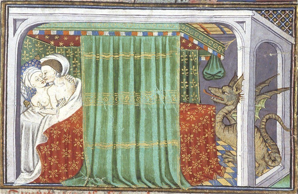 1444 - 1445: Dragon in the bedroom