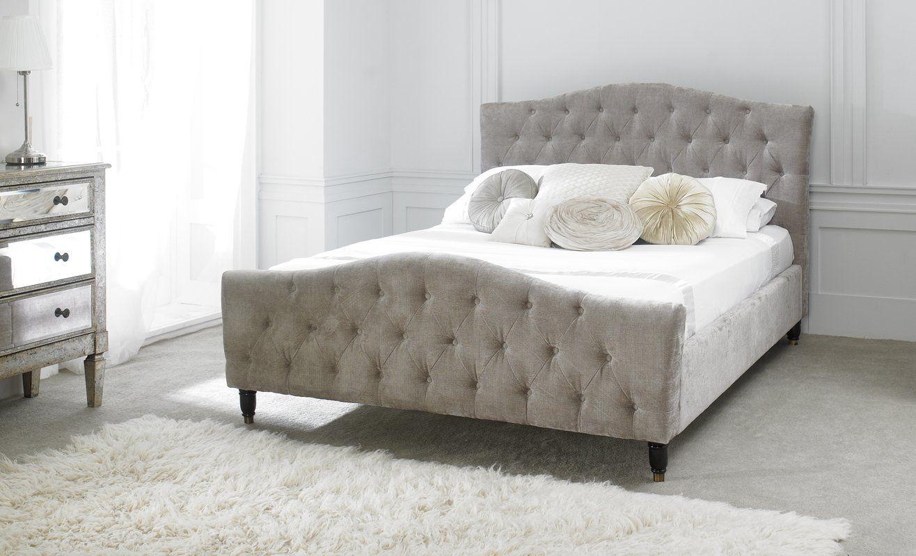 Upholstered Bed Frame Upholstered bed frame, Adjustable