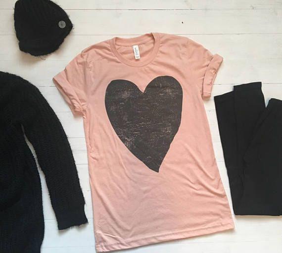 62ca081c0 Valentine Shirt Women. Valentines Day Shirt. Valentines Gift. Heart ...