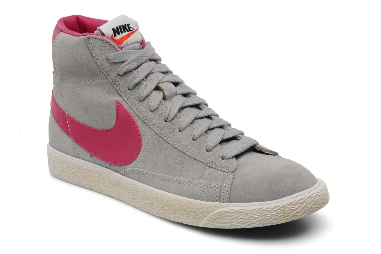 new style 01640 bb699 Blazer Mid Prm Suede Nike (Gris)