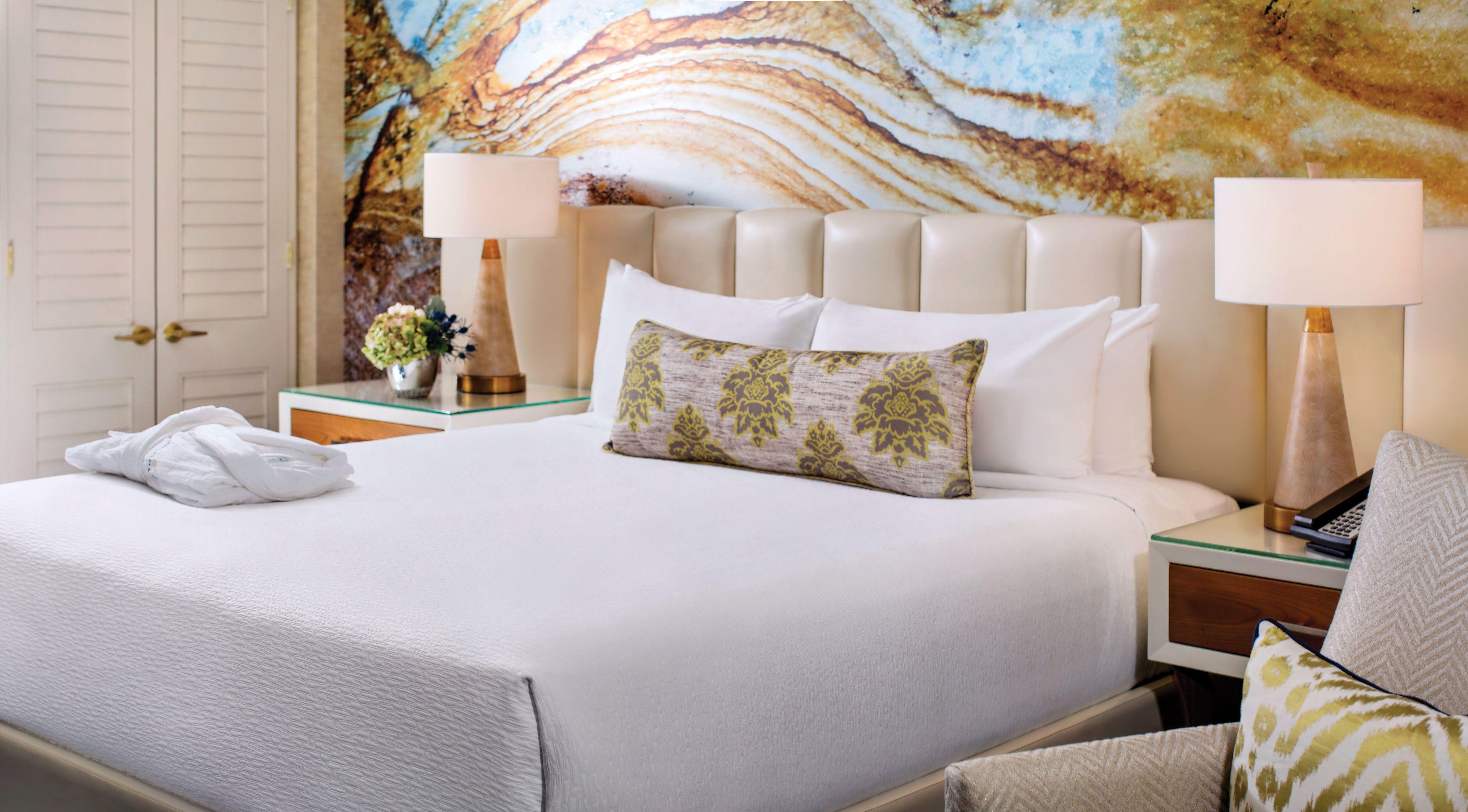 The revamped Resort rooms inside MandalayBay feels like a