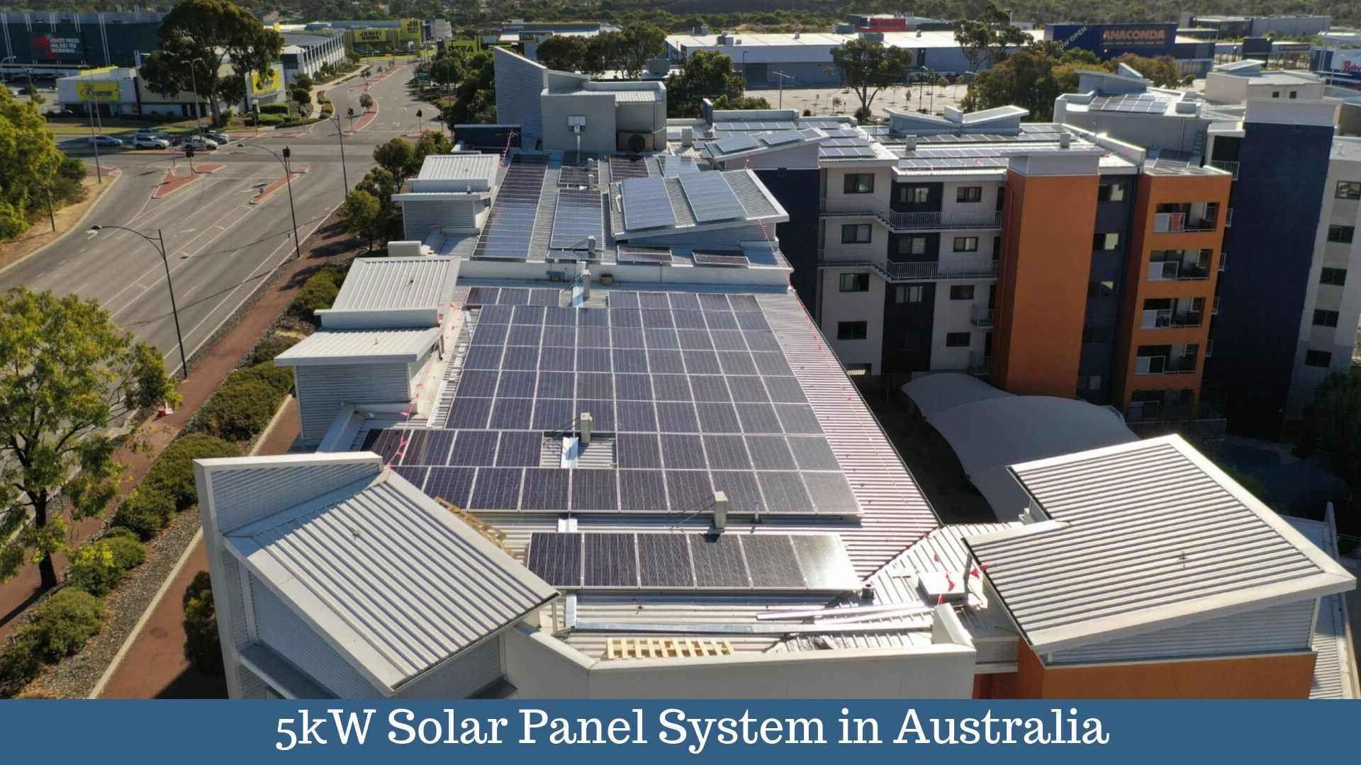 Solar Power System For Residential Buildings 5kw Solar Panels Best Solar Panels Solar