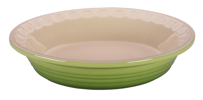 Le creuset stoneware pie dish 9inch palm dont get