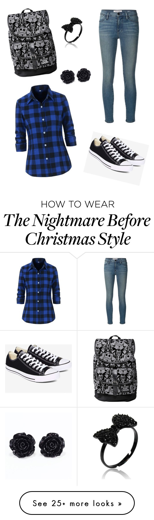 """""""Carley Cool!"""" by spethc on Polyvore featuring Frame Denim and Converse"""