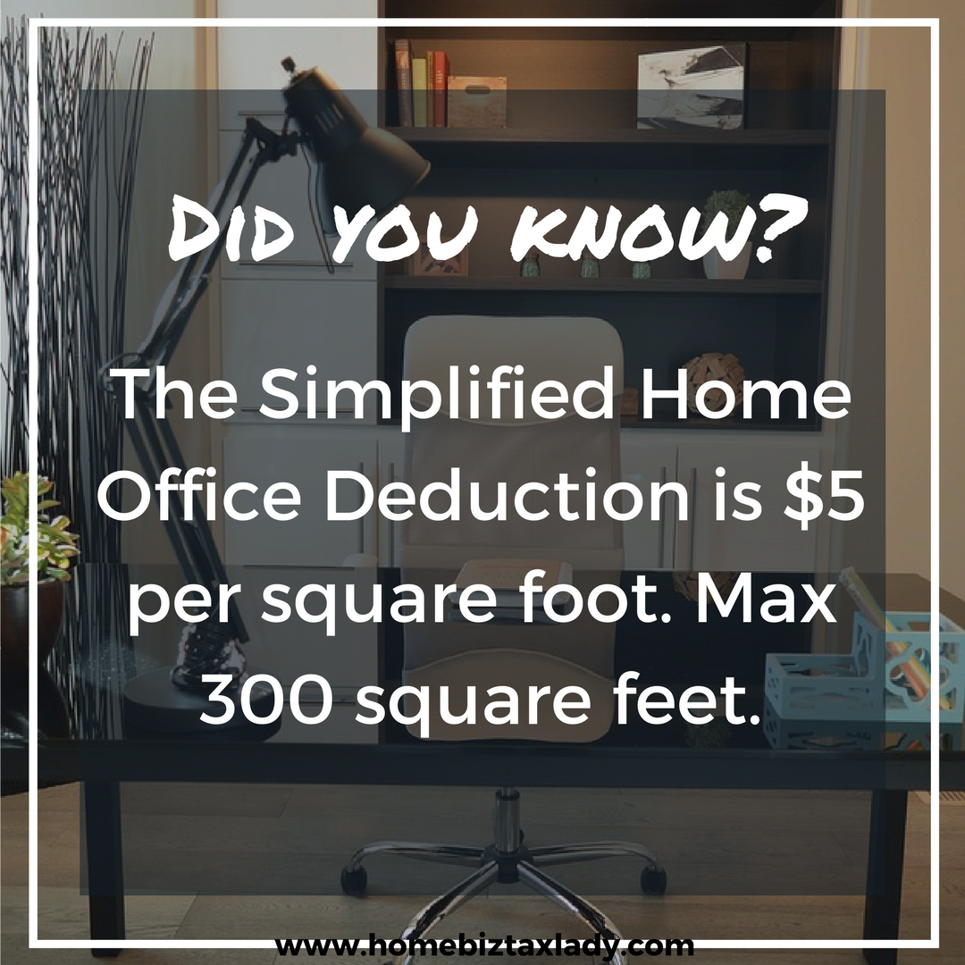 Did You Know Simplified Option For Home Office Tax