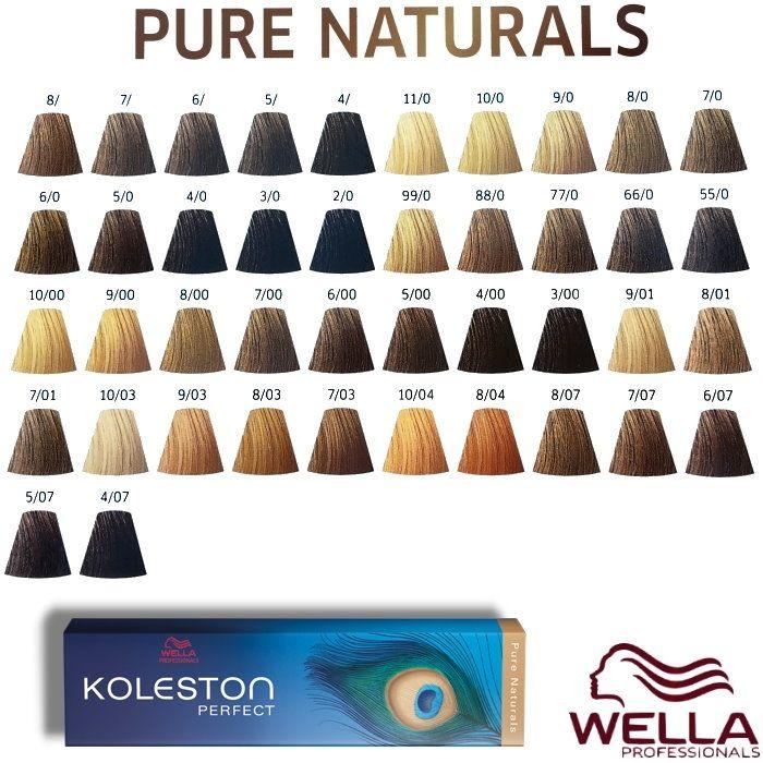 Wella koleston perfect pure naturals ml description de also rh pinterest