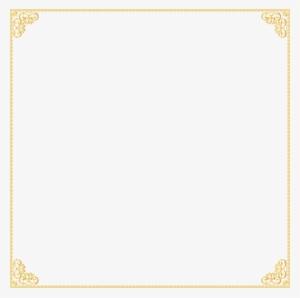 Free Png Gold Border Frame Png Images Transparent Gold Border No Background 333706 Gold Border Gold Frame Image