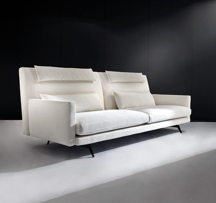 Style your living room with a total white modern sofa Greg