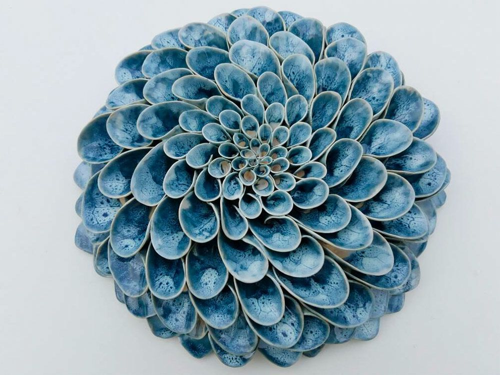 Handmade Ceramic Blooms And Succulents By Owen Mann Handmade Ceramics Ceramic Sculpture Ceramic Succulent
