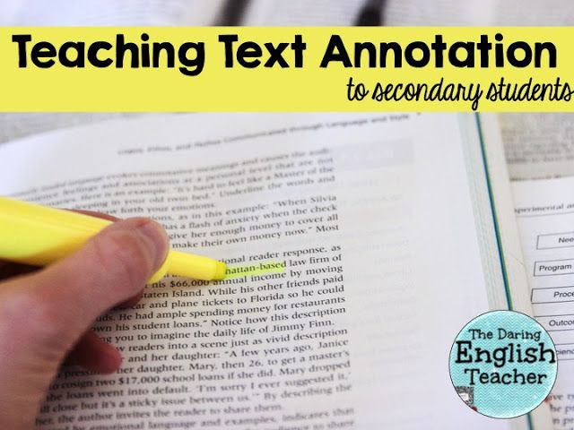 what does annotate mean for kids