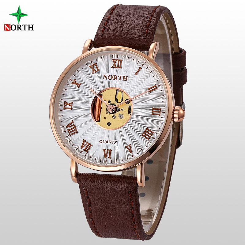 $19.99 (Buy here: http://appdeal.ru/51d2 ) Montre Femme Women Watches 2016 Luxury Brand Gold Lady Watch Stainless Steel Wristwatch Leather Hollow Watch Women Quartz-Watch for just $19.99