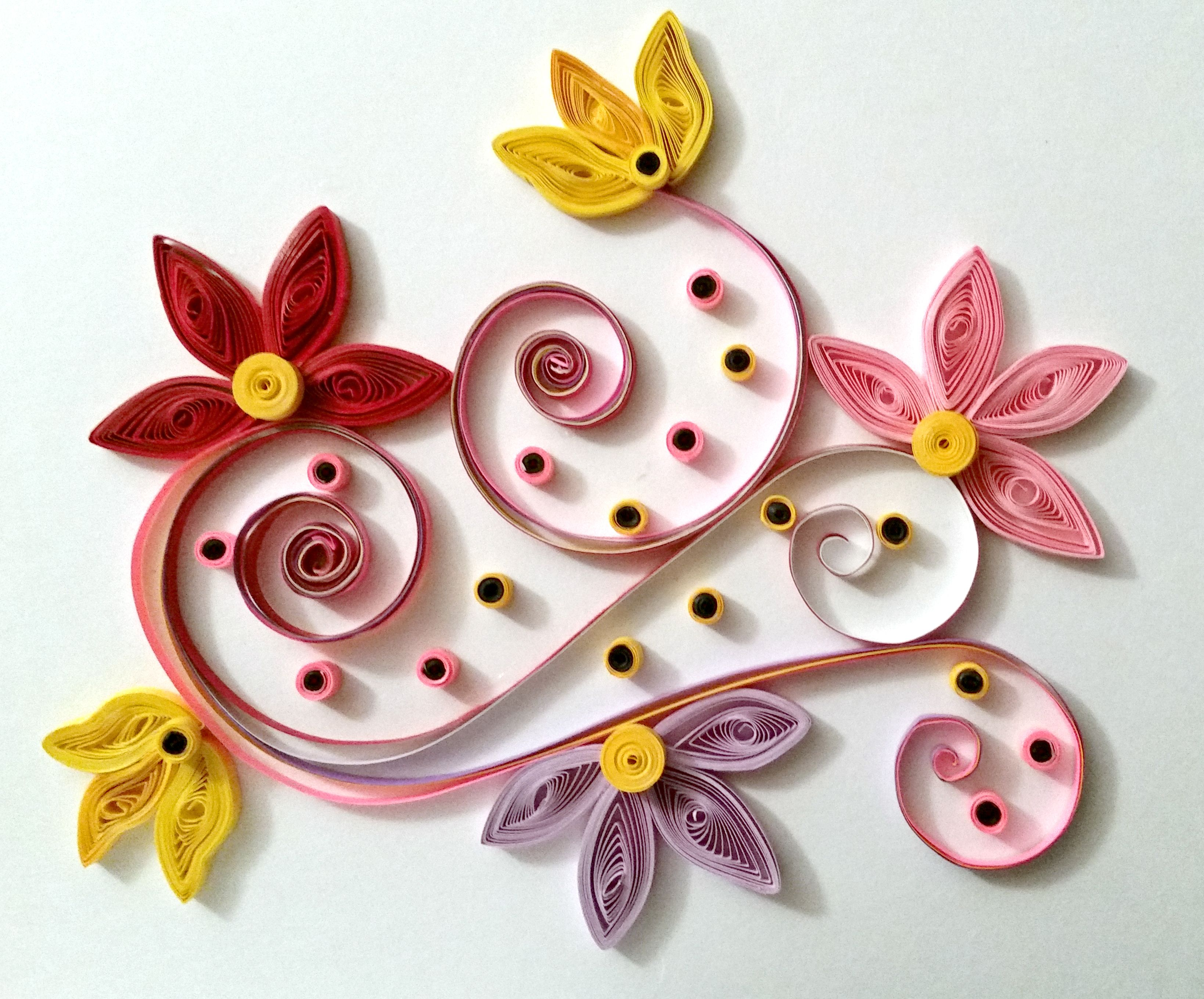 Pin By Clarigene Ventura On Paper Coil Quilling Paper Quilling