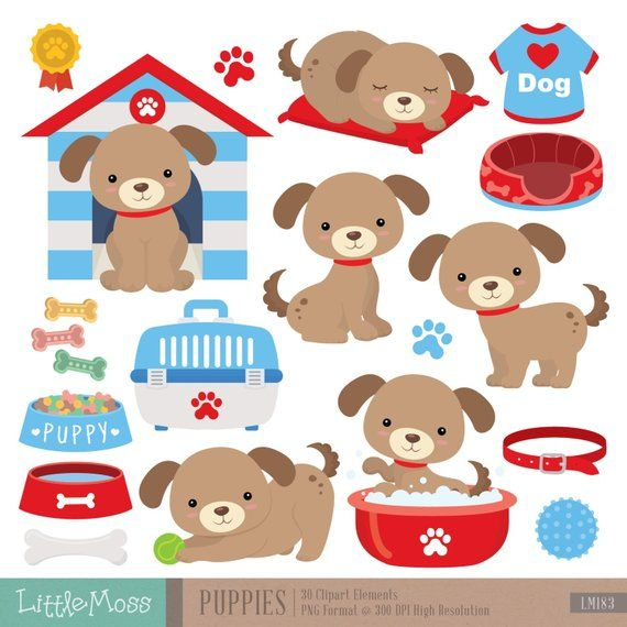 Puppy Dogs Digital Clipart Puppies Clipart Puppy Clipart Cat