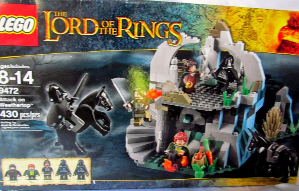 Lego Attack On Weathertop 9472 Lord Of The Rings New In Box
