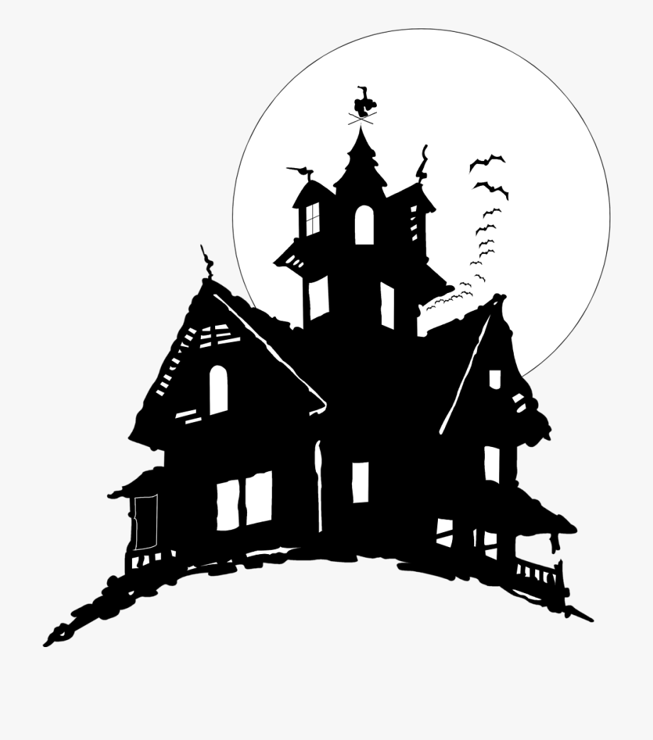 Download and share School House Clipart Art Haunted