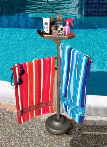 55 Bronze Outdoor Summer Pool And Spa Accessories Tray And