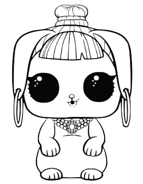 Lol Pets Coloring Book Free Printable Bunny Wishes Lol Dolls Unicorn Coloring Pages Coloring Books