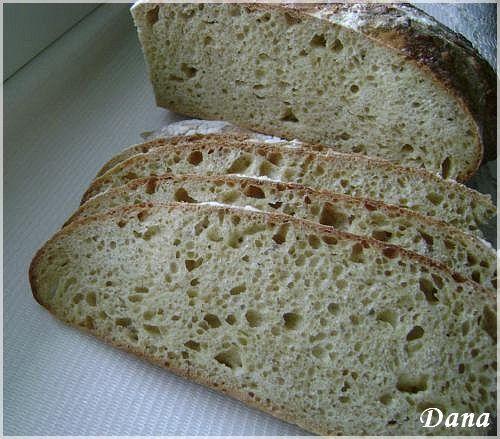 Chleb Pszenny Na Zakwasie Z Maki Razowej Domowy Chleb Na Zakwasie Przepisy Lesny Zakatek Bloog Pl Food Bread