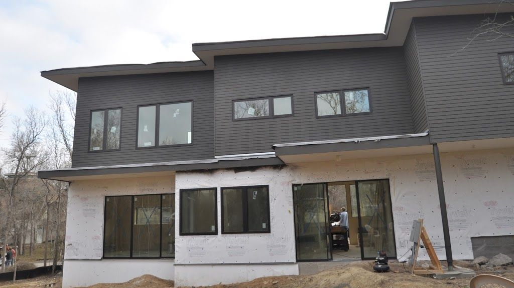 Hardie Siding Panels With Lap Stucco On Bottom Do