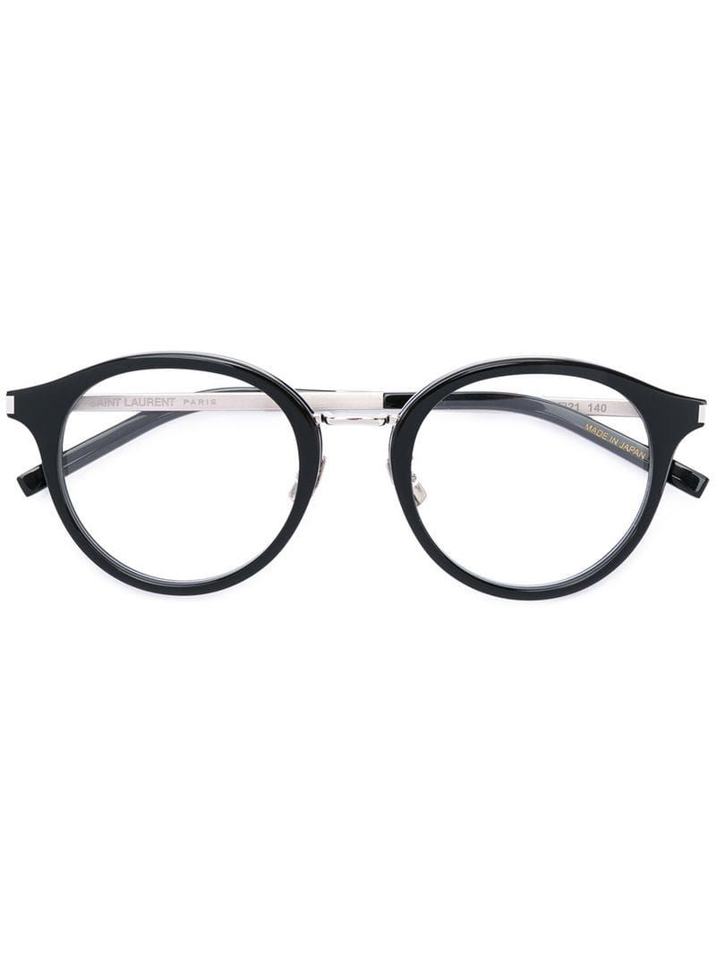413572cacf56c SAINT LAURENT ROUND FRAME GLASSES.  saintlaurent