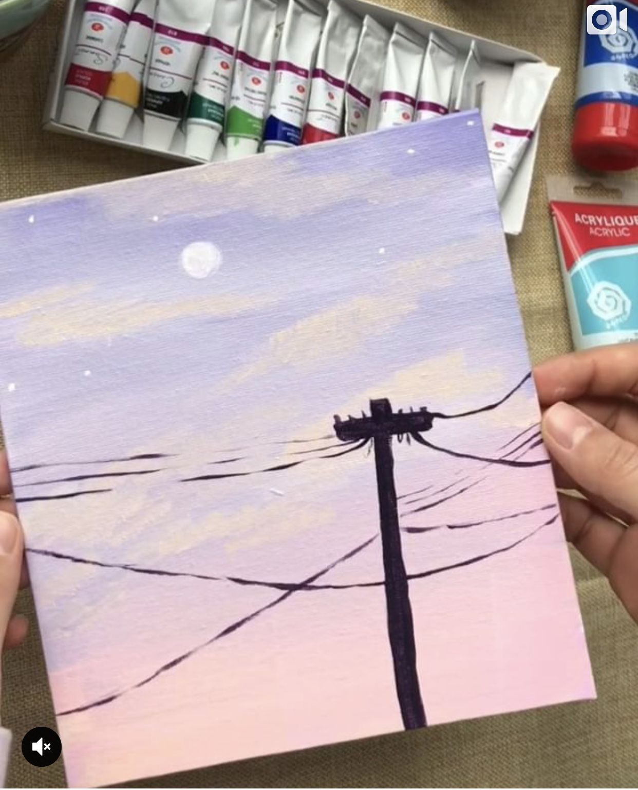 Cute Aesthetic Painting Easy