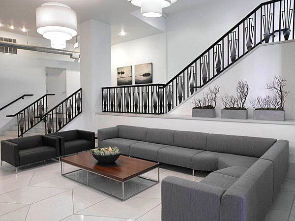 Stylish Lobbies With Standout Style For Your Home Interior Design Contepmorary Chicago Residential Lobby