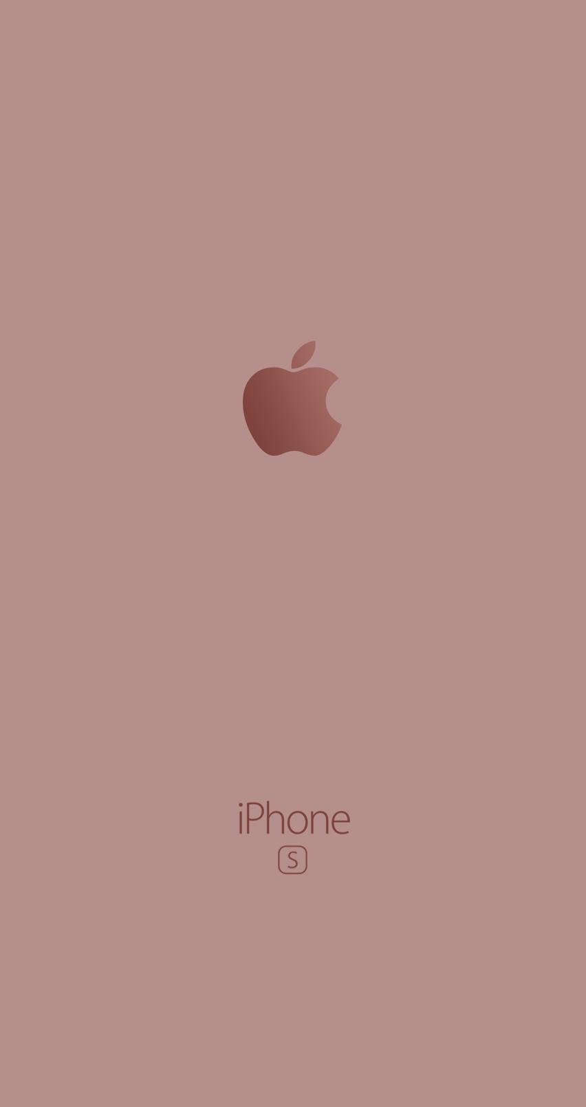 Iphone 6s Wallpaper Pink Logo Apple Fond D Ecran Rose Wallpapers Wallpaper Apel Wallpaper Ponsel Kertas Dinding