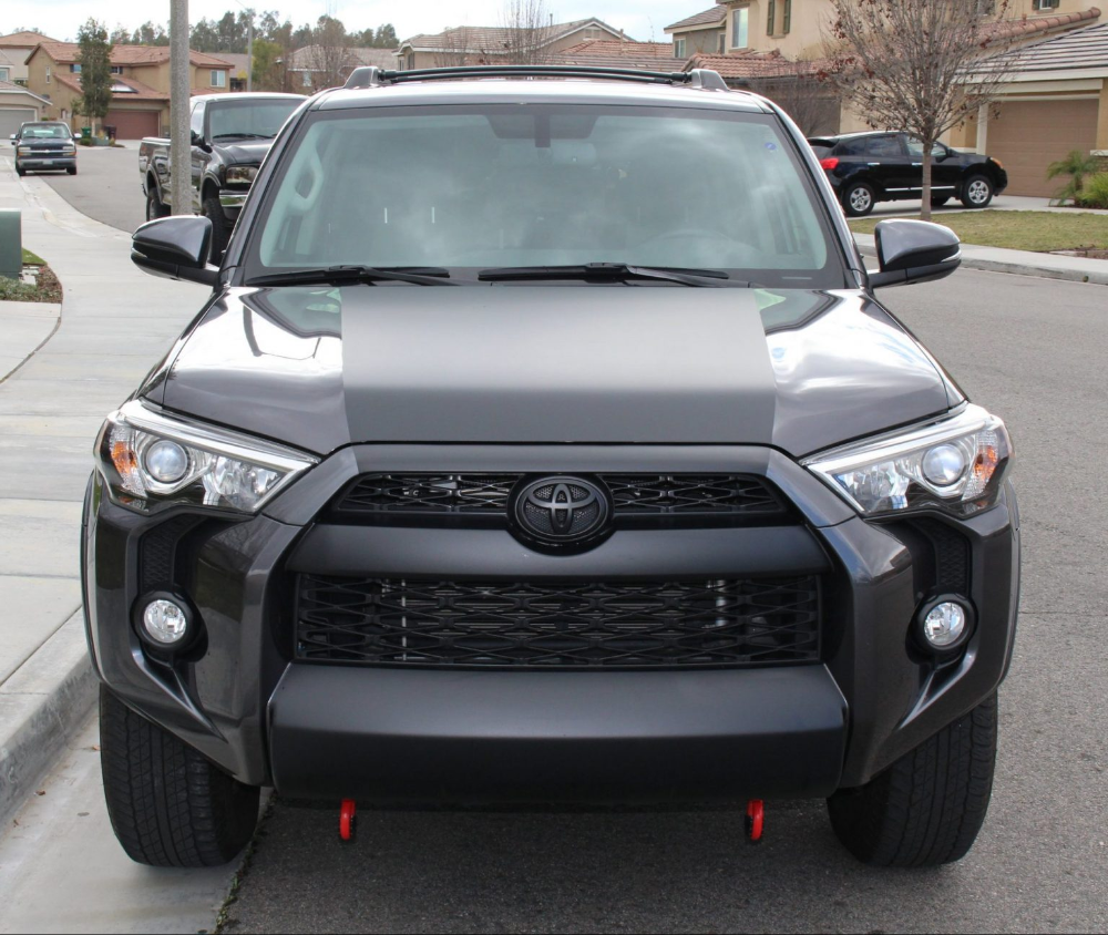 How To Vinyl Wrap Your 5th Gen 4runner Valance Grille Hood In 2021 4runner Vinyl Wrap Car Wrap Design