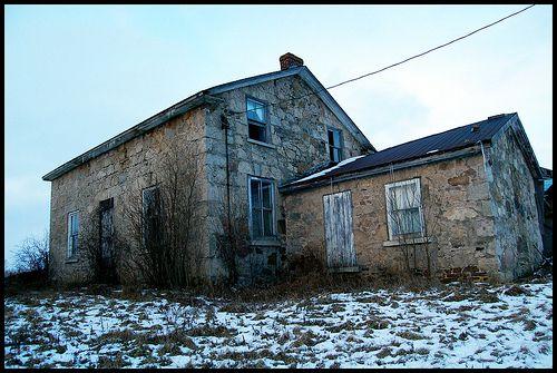 #Abandoned Stone House