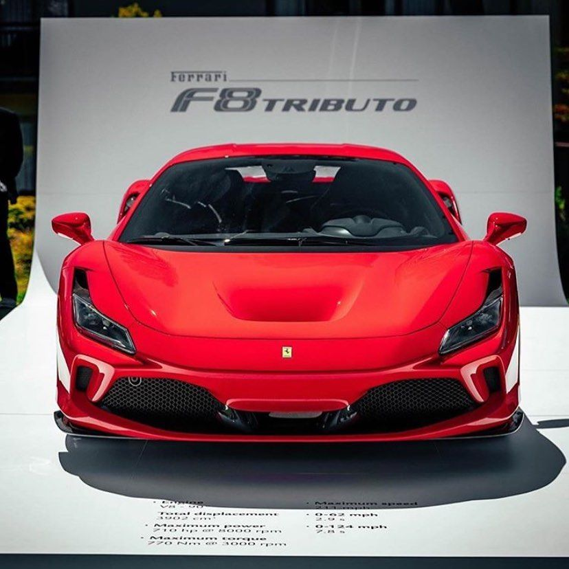 Ferrari F8 Tributo Convertible: Tag A Friend Whod Buy This?...