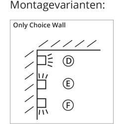 Photo of Top Light Only Choice Wall Wandleuchte chrommatt Wunsch-Mont…