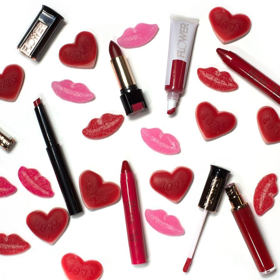 Valentines day kisses with flower beauty lip products including valentines day kisses with flower beauty lip products including new 2016 hydrasilk ultimate lip butter izmirmasajfo Gallery