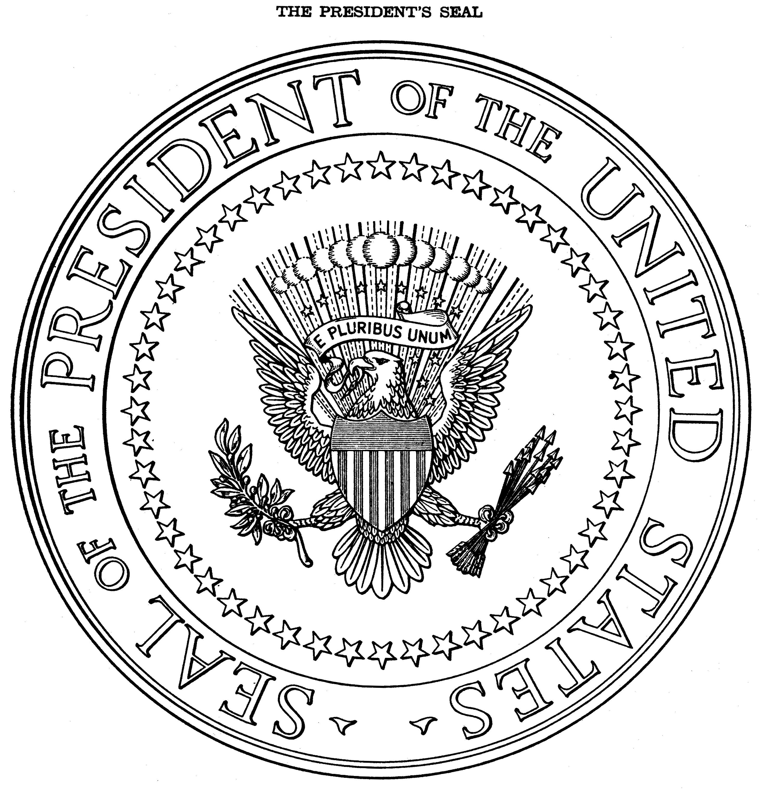 Adult Best Presidential Seal Coloring Page Images cute seals presidential seal and gold bullion on pinterest gallery images