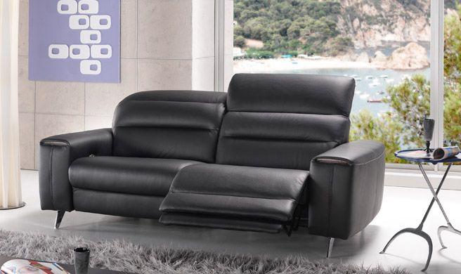 Canapé 3 places 2 places relaxation électrique l ameublier