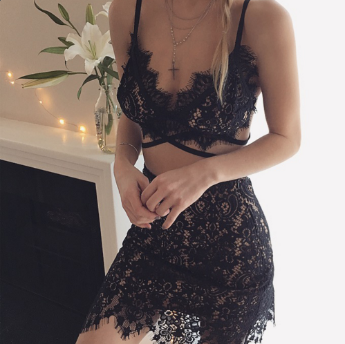 All laced up. #ForLoveAndLemons #Holiday15