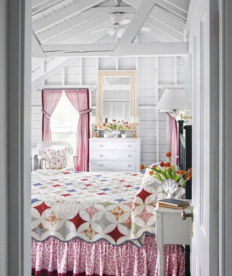 Best Rustic Shabby Chic Bedroom Decorating Ideas 49 Shabby 400 x 300