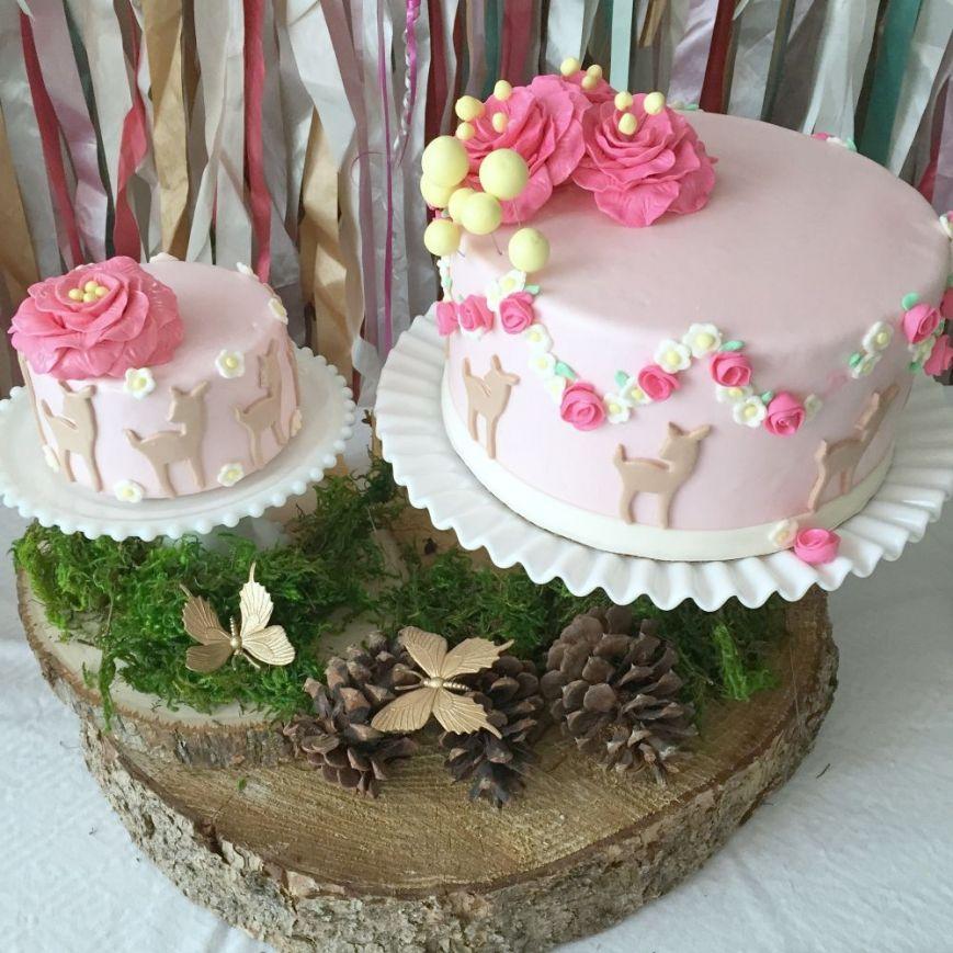 Birthday Table Mountain: Isla's Woodland Birthday Party