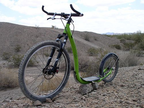 Footbike For Off Road Use Scooter Bike Bicycle Scooter
