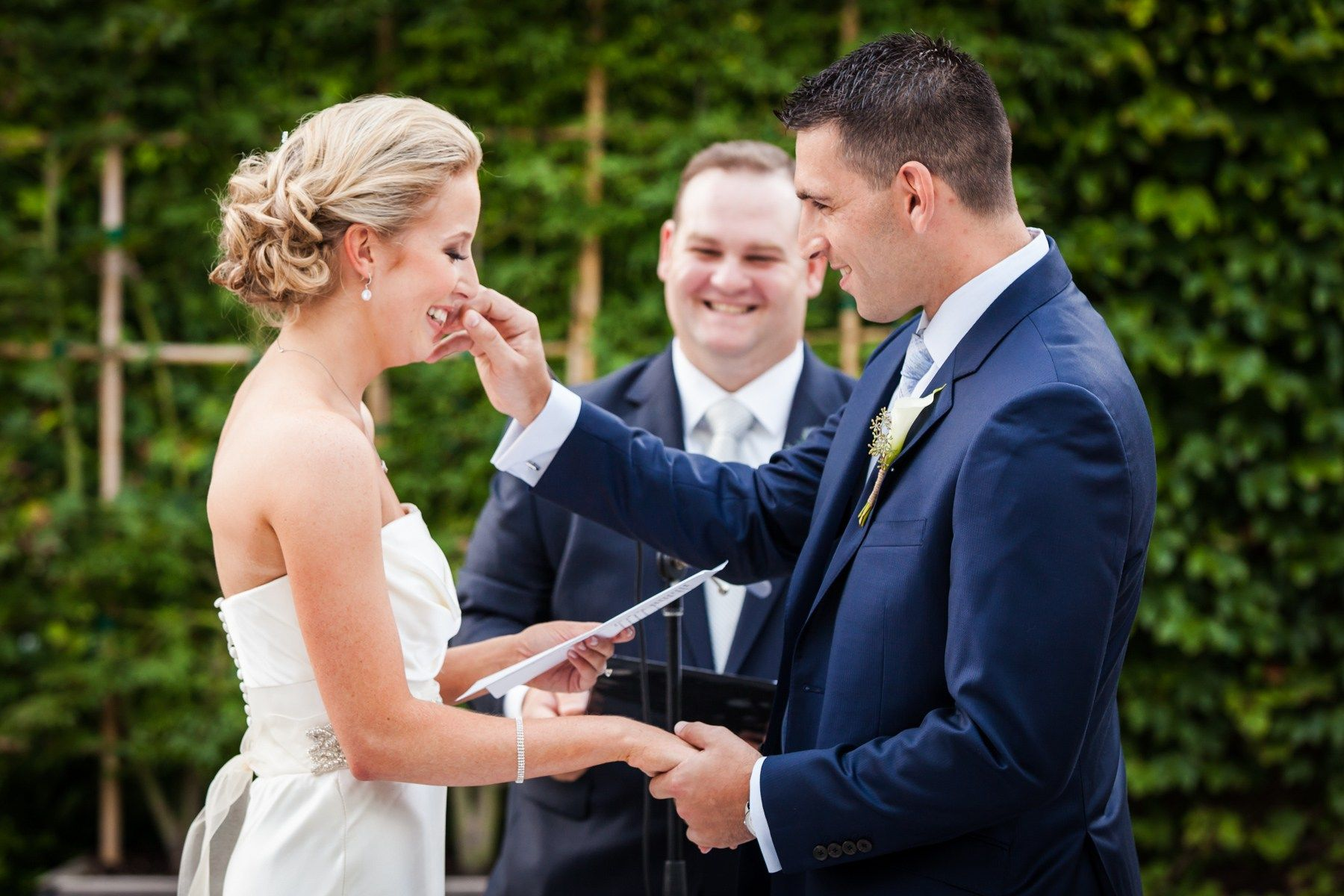 It's the new trend that is sweeping the wedding industry