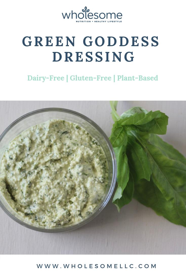 Green Goddess Dressing Benefits Of Basil Green Goddess Dressing Healthy Ingredient Food Processor Recipes [ 1102 x 735 Pixel ]