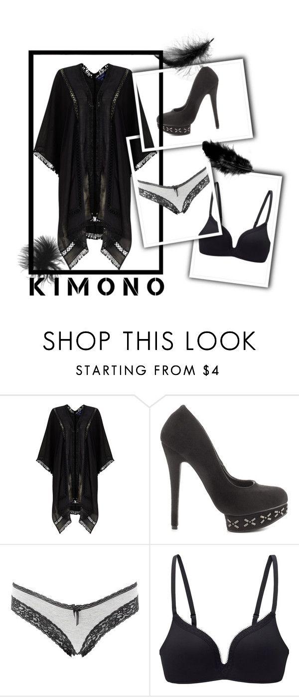 """Kimono No.225"" by xdivinexbeautyx ❤ liked on Polyvore featuring Phase Eight, Michael Antonio, Charlotte Russe, Uniqlo and kimonos"