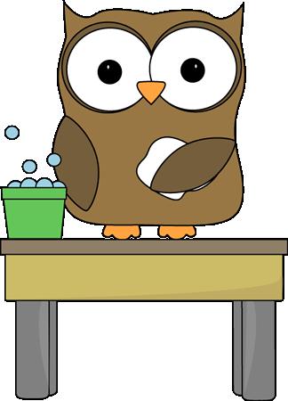 owl table washer clip art for schedules pinterest washer owl rh pinterest com Science Experiment Clip Art Owl School Clip Art