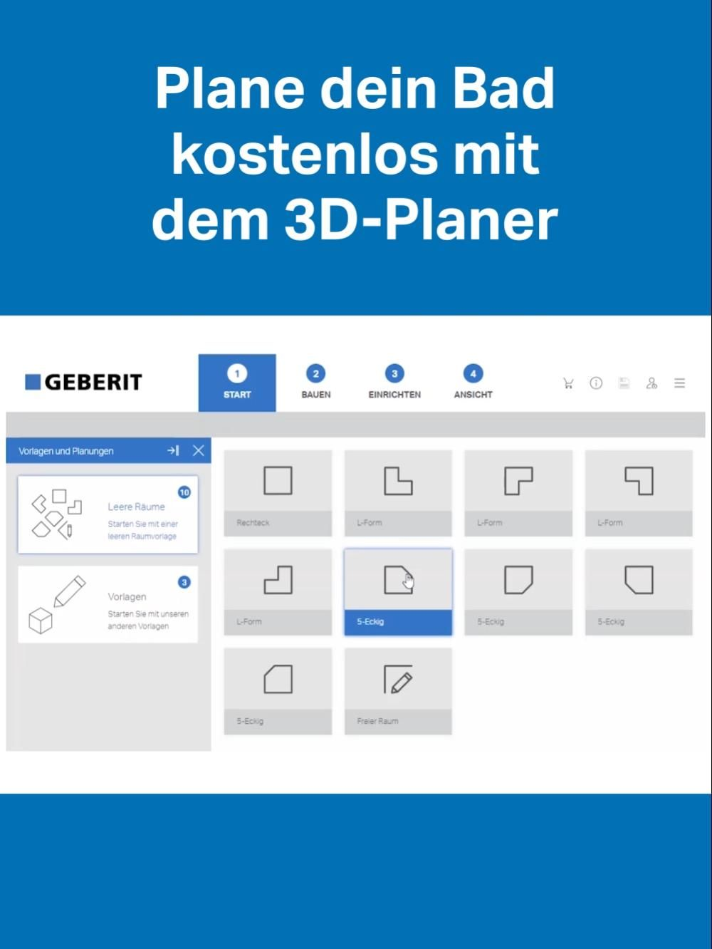 3d Bad Planer Testen Video In 2020 Badezimmer Online Planen Bad Ideen Grundriss Badplanung