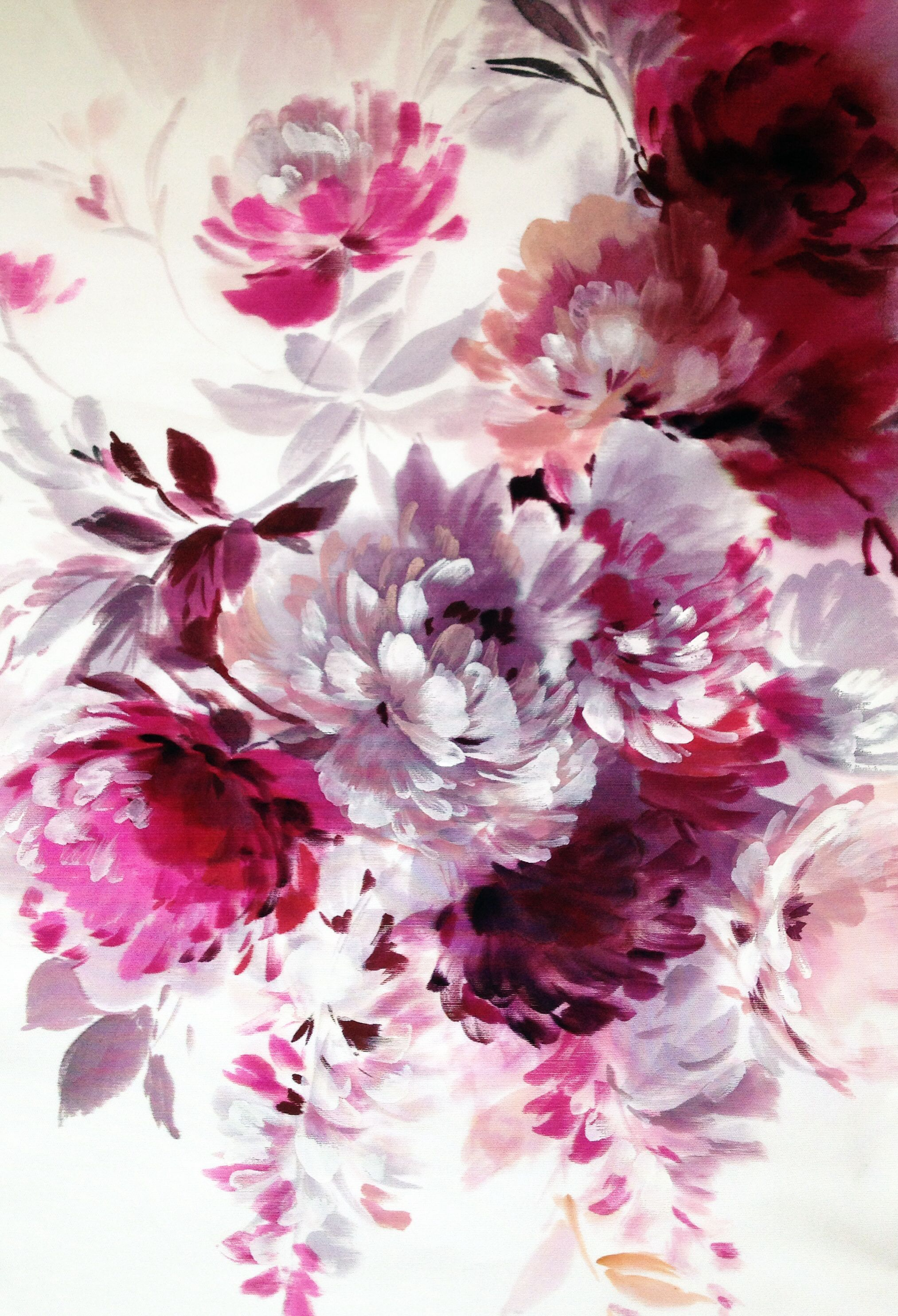 1000 ideas about floral print wallpaper on pinterest for Printed wallpaper