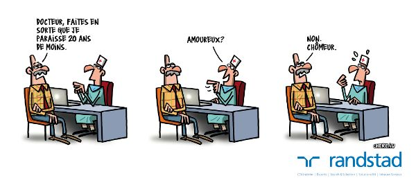 12 dessins humoristiques contre les discriminations - Randstad - Dessins  : Antoine Chéreau