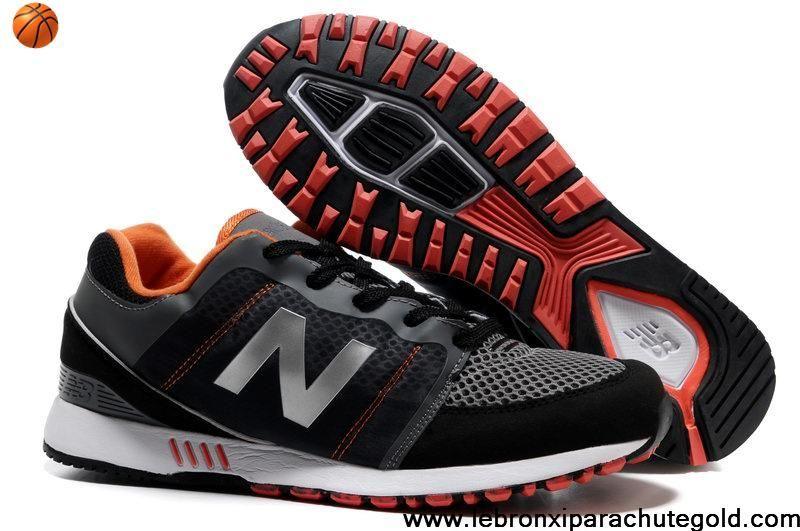 new balance nb 751 black orange silver mesh running shoes fashion shoes store