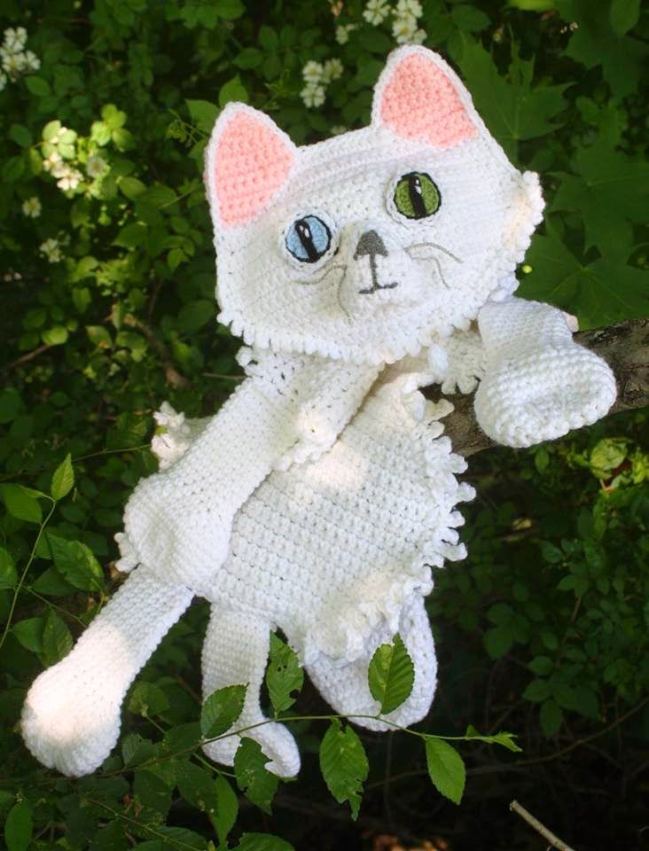 My Longhair Kitty - Patterns for Sale | Jenna Wingate Designs ...