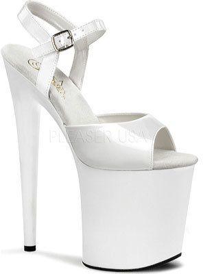 809 Lorena Flamingo Pleaser Ankle Platform Sandal Strap Women's 0Ag7nFn