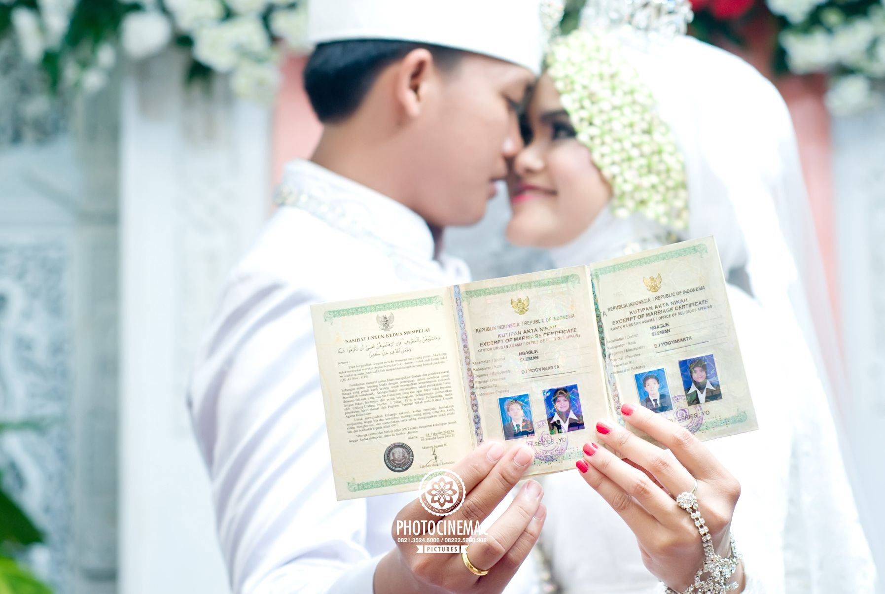 foto pernikahan romantis hijab nusagates rh nusagates com