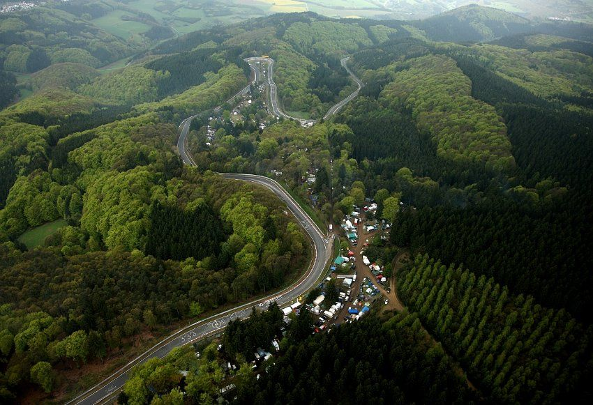 From Kesselchen To Hohe Acht Nurburgring Nordschleife Seen Nord